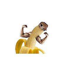 Biceps Banana Photographic Print