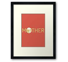 Mother Logo Framed Print