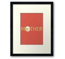 Mother Logo Framed Print
