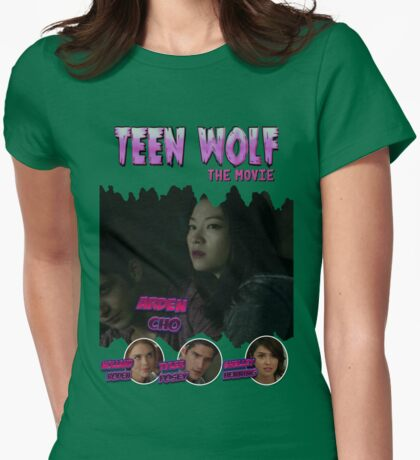 Teen Wolf Old Comic [Kira] Womens Fitted T-Shirt