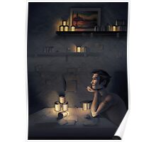Claude's Fireflies Poster