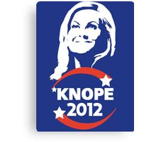 Leslie Knope for City Council Canvas Print