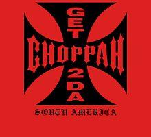 GET 2 DA CHOPPAH (Black) Unisex T-Shirt