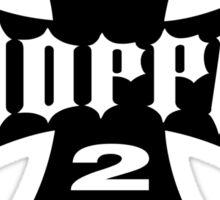 GET 2 DA CHOPPAH (Black) Sticker