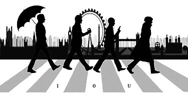 221B Abbey Road (Version Two) by Ambear92