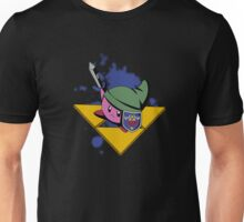 Cutie with shield and sword -black- Unisex T-Shirt