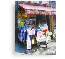 Discount Dress Shop Hoboken NJ Canvas Print