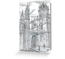afternoon at Jerónimos Monastery Greeting Card