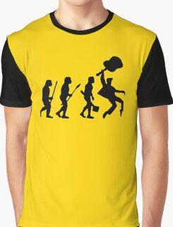 EVOLUTION OF ROCK Graphic T-Shirt