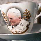 Papal Crockery by Pauline Mason