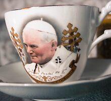 Papal Crockery by Pauline Mason