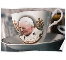 Papal Crockery Poster