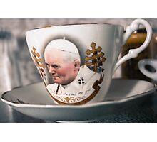 Papal Crockery Photographic Print