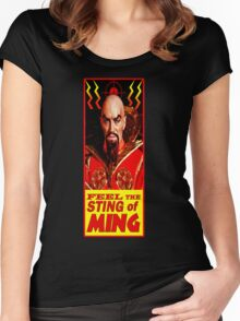 The Sting of Ming Women's Fitted Scoop T-Shirt