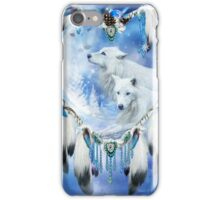 Holiday Wolves iPhone Case/Skin