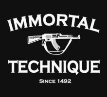 Immortal Technique T-Shirt by AliveWear