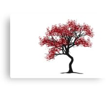 Handprint Tree Canvas Print