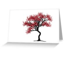 Handprint Tree Greeting Card