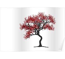 Handprint Tree Poster