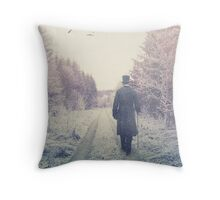 Mr Darcy Throw Pillow