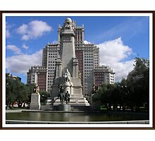 Plaza España...... Photographic Print