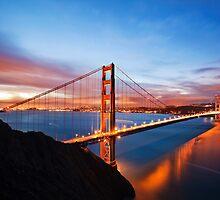 Golden Gate Bridge by ArnauDubois