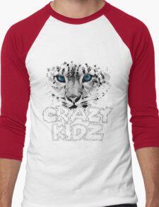 Leopard - Crazy Kids Men's Baseball ¾ T-Shirt