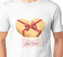 Valentine's day gift box Unisex T-Shirt