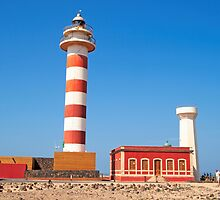 Lighthouse in Fuerteventura island by Atman Victor