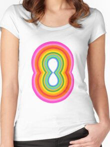 Concentric 1 Women's Fitted Scoop T-Shirt