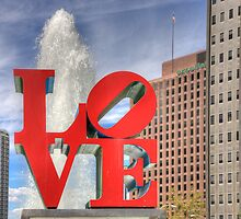 LOVE in Philly in HDR by matthewbam