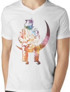 AVA LOVE Space Shirt Mens V-Neck T-Shirt