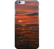 Journey Within-oil painting-alleyvision iPhone Case/Skin