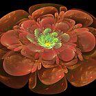 Textured Bloom by Sandy Keeton