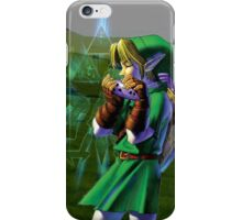 Ocarina of Time - Link iPhone Case iPhone Case/Skin