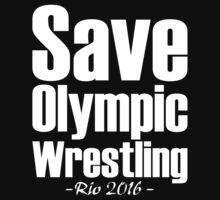 Save Olympic Wrestling by mrtdoank