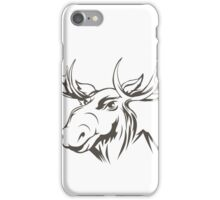 Moose head iPhone Case/Skin