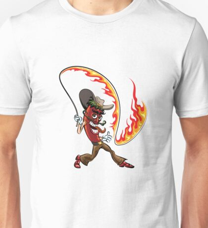 chili pepper with a lash of fire Unisex T-Shirt