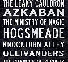 Harry Potter Tram Scroll by rafstardesigns