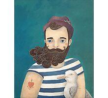A Sailor Photographic Print