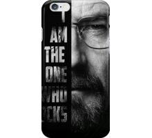 Walter White I am the one who knocks iPhone Case/Skin