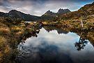 Cradle Mountain Reflections by Mieke Boynton
