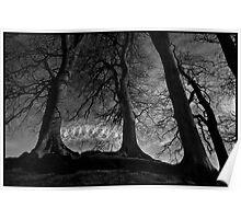 Avebury Hoop Dance by Stu Jenks Poster