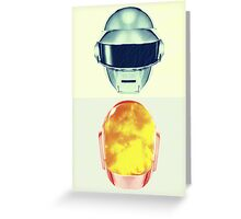 Daft Art Greeting Card