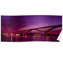 *Peace Bridge, USA Poster