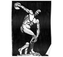 Myron's Discus Thrower Poster