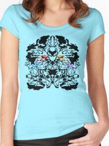 Teenage Mutant Ninja Rorschach Women's Fitted Scoop T-Shirt
