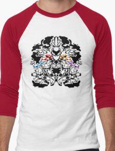 Teenage Mutant Ninja Rorschach Men's Baseball ¾ T-Shirt