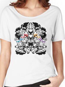 Teenage Mutant Ninja Rorschach Women's Relaxed Fit T-Shirt