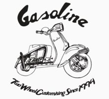 Gasoline Scooter One Piece - Long Sleeve